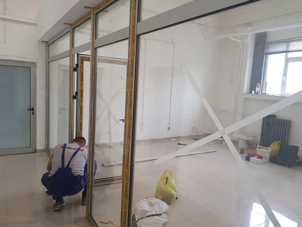 aluminijumska stolarija kancelarijske pregrade
