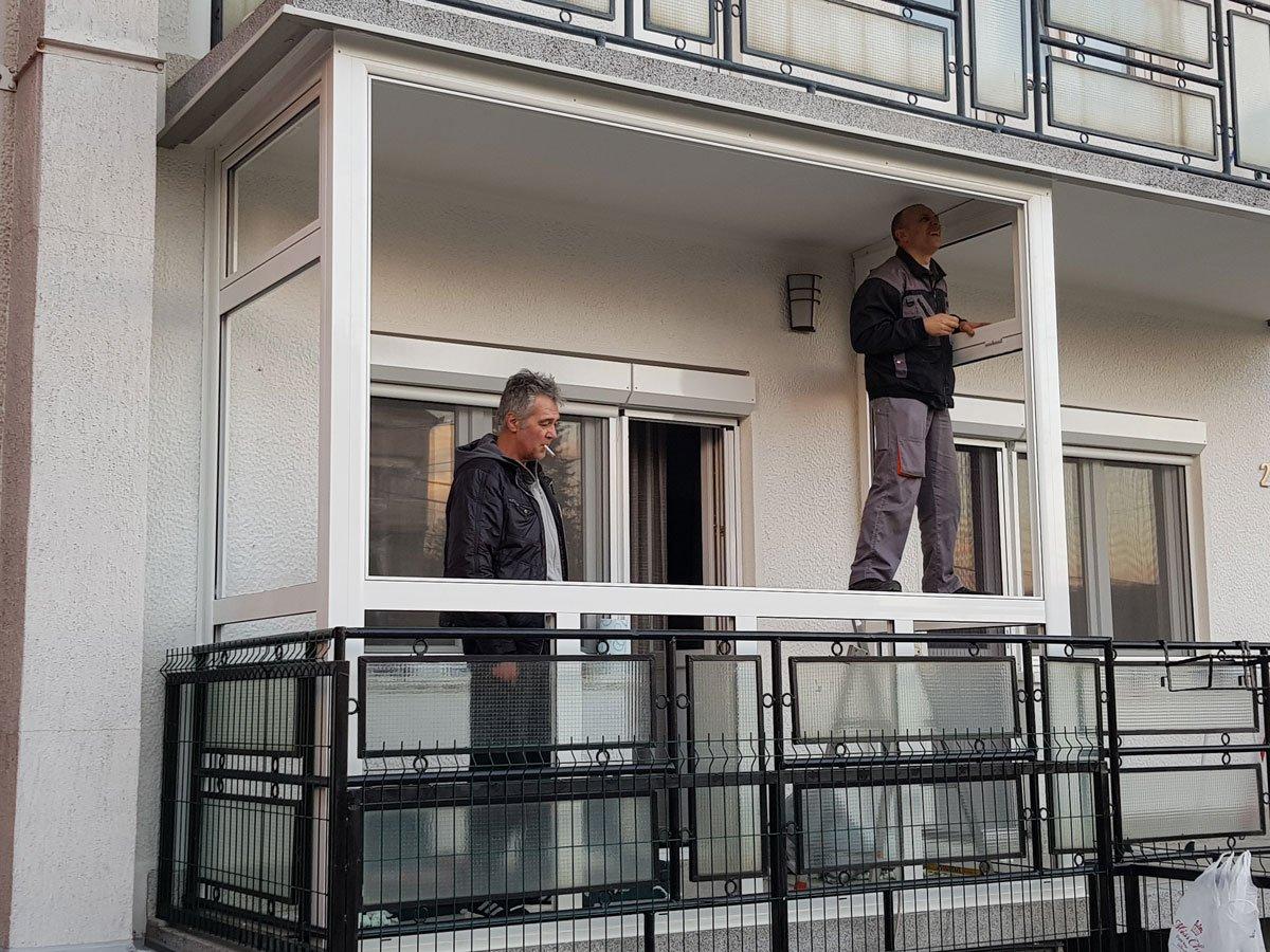alu stolarija zastakljivanje terase žarkovo