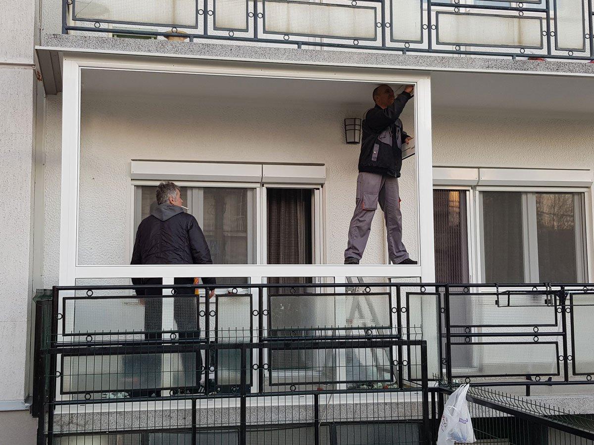 alu stolarija zastakljivanje terase