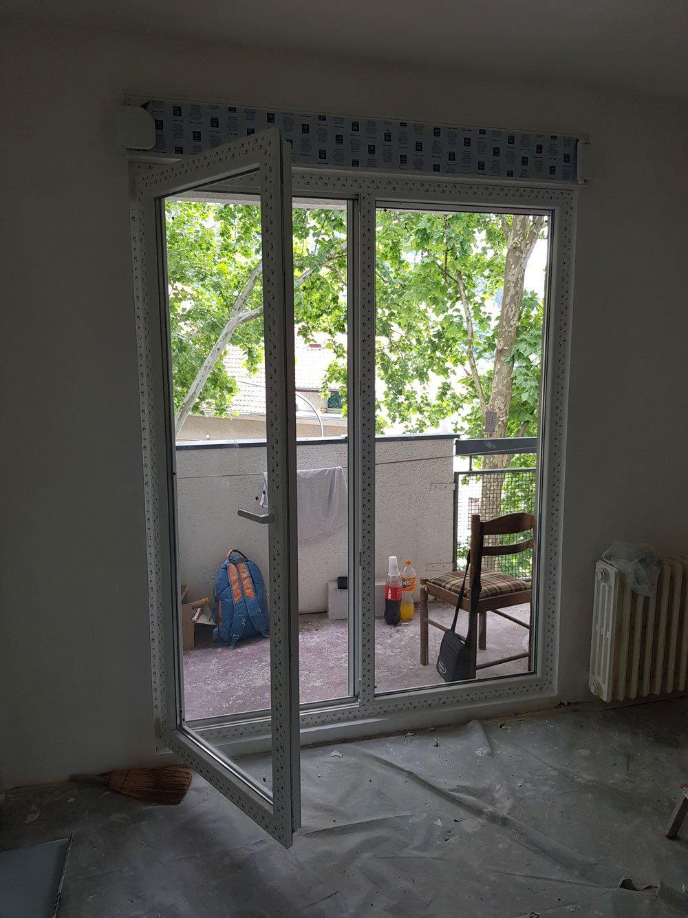 ugradnja pvc prozora stan miljakovac