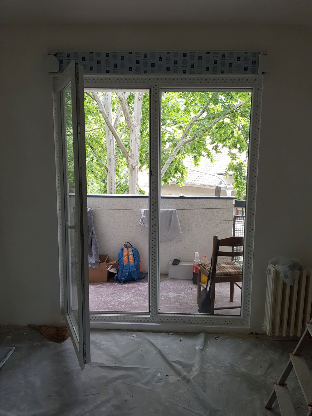 ugradnja pvc prozora i pvc stolarije za stan na miljakovcu
