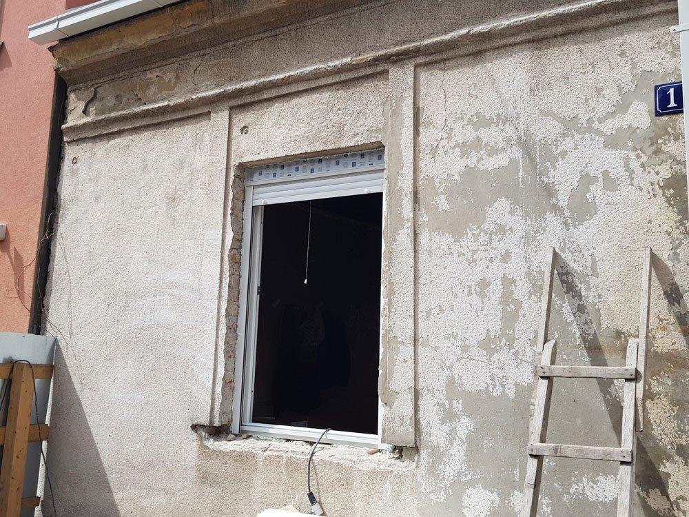 ugradnja pvc prozora za kuću na zvezdari