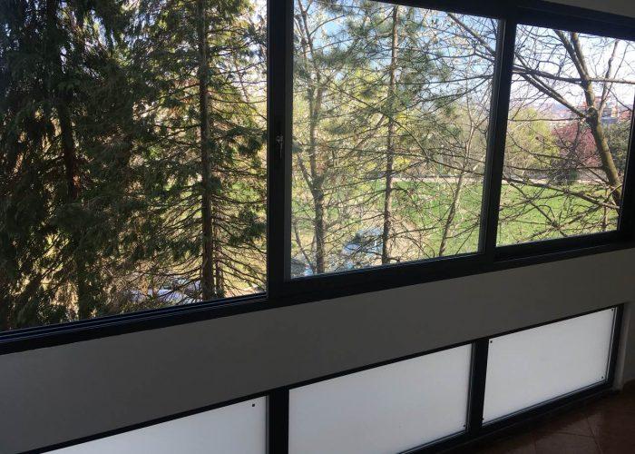Zastakljivanje terase, aluminijum